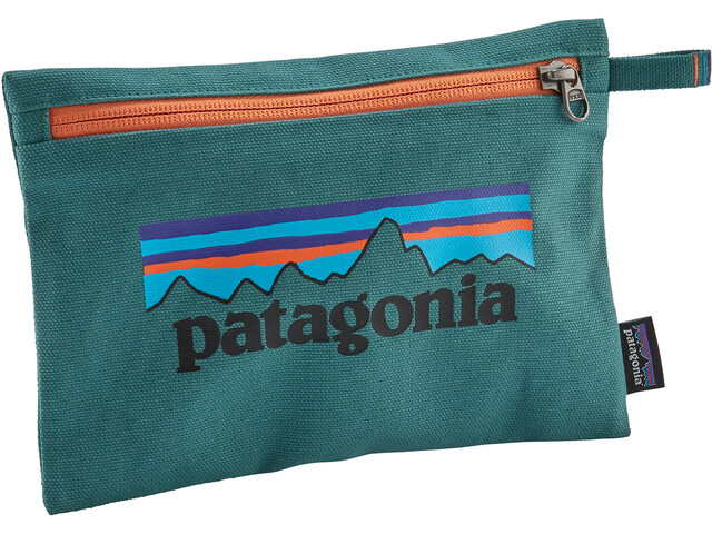 Patagonia Zippered Laukku, p-6 logo/tasmanian teal